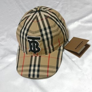 BURBERRY - BURBERRY バーバリー ヴィンテージチェック ベースボール キャップ