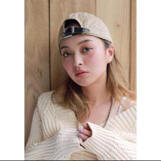 シールームリン(SeaRoomlynn)の完売品♡searoomlynn♡キャップ♡ベージュ♡(キャップ)