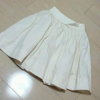 ワンアフターアナザーナイスクラップ(one after another NICE CLAUP)のオフホワイト スカート値下げ(ミニスカート)