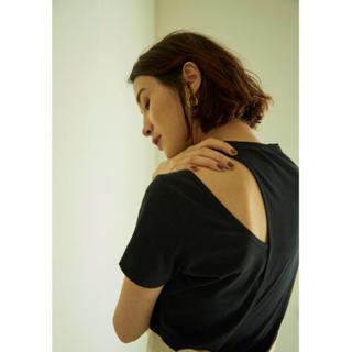 アメリヴィンテージ(Ameri VINTAGE)のリトルスージー完売☆アシメトリーTシャツ(Tシャツ(半袖/袖なし))