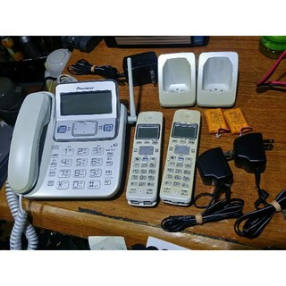 パイオニア(Pioneer)のPioneer コードレス留守番電話 TF-SD7230-W コードレス2台(その他 )