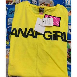 アナップ(ANAP)のANAP ANAPガール Tシャツ*未使用*(Tシャツ(半袖/袖なし))