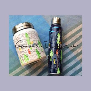 ミナペルホネン(mina perhonen)のミナペルホネン one day サーモマグ ボトル ネイビー♬(水筒)