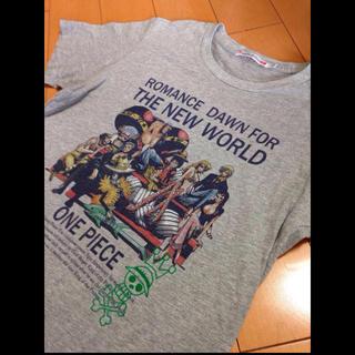 ユニクロ(UNIQLO)のワンピース✖️UTグレーT(Tシャツ/カットソー(半袖/袖なし))