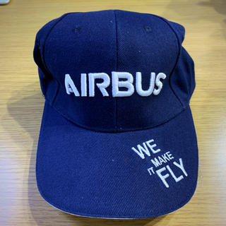 JAL(日本航空) - 【新品未使用】AIRBUS キャップ ネイビー WE MAKE IT FLY刺繍