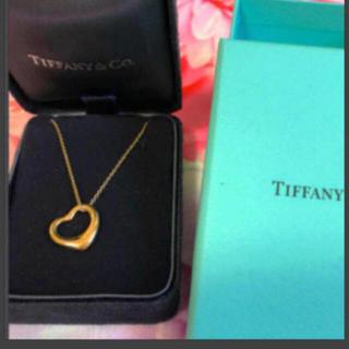 Tiffany & Co. - ティファニーオープンハートネックレス