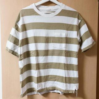 GU - GU メンズ ボーダーTシャツ