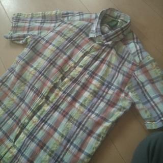 ユニクロ(UNIQLO)のユニクロ オリジナルウォッシュ チェックシャツ(シャツ)