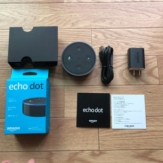 エコー(ECHO)のamazon echo dot(スピーカー)