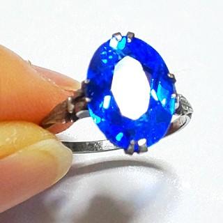 サンプラチナ  ロイヤルブルー  ヴィンテージリング(リング(指輪))