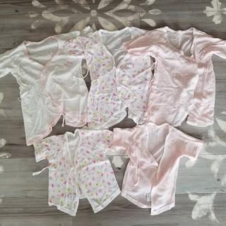 西松屋 - 新生児肌着5枚セットまとめ売り♪女の子♡
