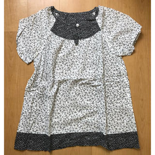 MUJI (無印良品) - マタニティシャツ トップス 無印良品 MUJI 薄手シャツ