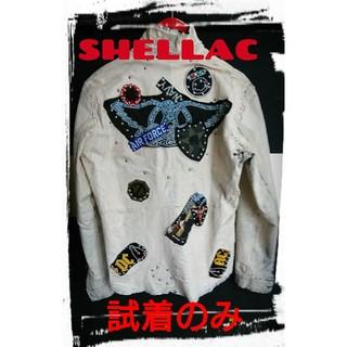 SHELLAC - ★定価・150000円★shellac★本革ロックレザージャケット