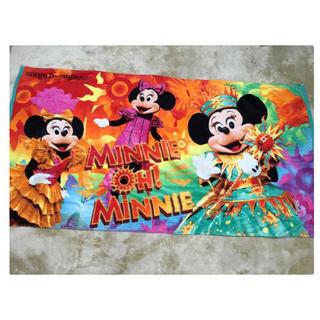 ディズニー(Disney)のミニー・オー・ミニー 大判バスタオル(ポスター)