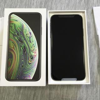 Apple - SIMロック解除済  新品未使用  iphonexs 64GB スペースグレー