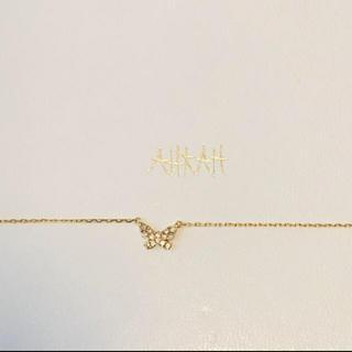 AHKAH - アーカー バタフライ ネックレス