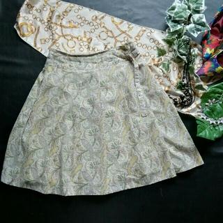 キース(KEITH)の♪KELTH♪ペイズリー柄入りベルトデザイン♪スカート♪(ひざ丈スカート)