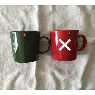 イッタラ(iittala)の[ringo81さま専用] iittala  マグカップ  グリーン(食器)