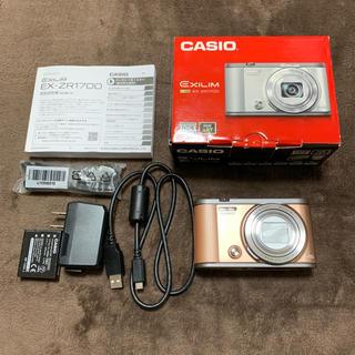 カシオ(CASIO)のEXILIM EX-ZR1700(コンパクトデジタルカメラ)