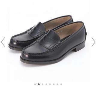 ハルタ(HARUTA)の[新品]22.5cm HARUTA レディス牛革コインローファー(ローファー/革靴)