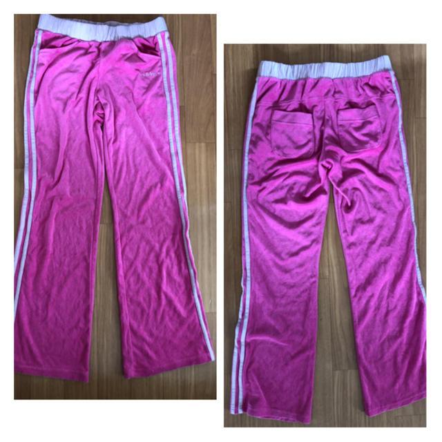 adidas(アディダス)のadidas♡ピンク♡上下セット♡ジャージ♡未使用♡ レディースのルームウェア/パジャマ(ルームウェア)の商品写真