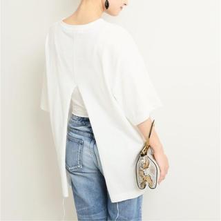 ドゥーズィエムクラス(DEUXIEME CLASSE)のINSCRIRE CREW NECK TEE アンスクリア ホワイト(Tシャツ(半袖/袖なし))