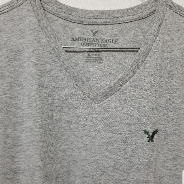 American Eagle(アメリカンイーグル)のアメリカンイーグルVネックTシャツ メンズのトップス(Tシャツ/カットソー(半袖/袖なし))の商品写真