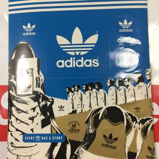 アディダス(adidas)の非売品 adidas ステッカー(ノベルティグッズ)
