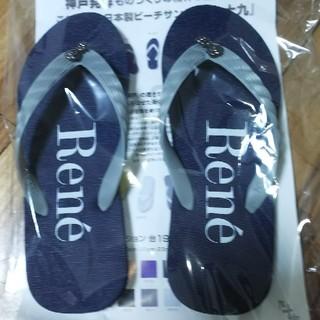 ルネ(René)の☆新品☆Rene ビーチサンダル(ビーチサンダル)