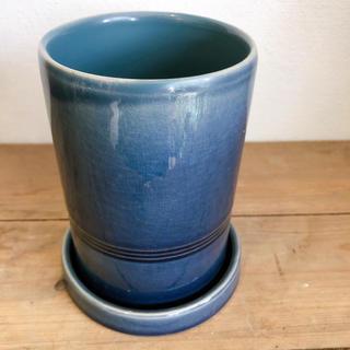 メデアトールシリンダー*濃いブルー(プランター)