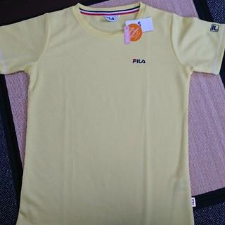 フィラ(FILA)の新品タグ付き FILA UV対応 吸汗速乾👕(Tシャツ/カットソー(半袖/袖なし))