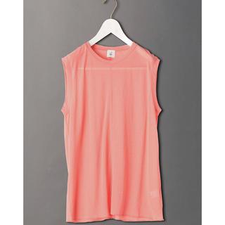 ビューティアンドユースユナイテッドアローズ(BEAUTY&YOUTH UNITED ARROWS)のroku  6 シアートップス 新品未使用(Tシャツ(半袖/袖なし))