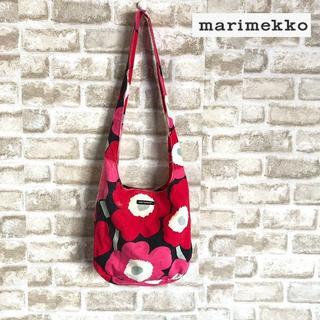 マリメッコ(marimekko)の【marimekko】マリメッコ 大花柄 ショルダーバッグ(ショルダーバッグ)