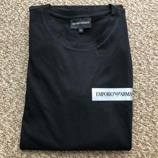 エンポリオアルマーニ(Emporio Armani)の新品 エンポリオ アルマーニTシャツ Mサイズ(Tシャツ/カットソー(七分/長袖))