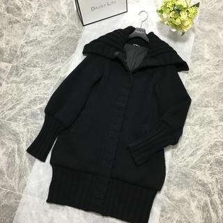 FOXEY - 美品 フォクシー FOXEY カシミヤ ニット コート ブラック 40