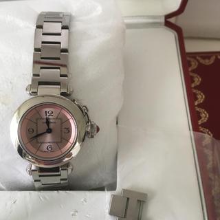 カルティエ(Cartier)のカルティエ W314008 ミスパシャピンク(腕時計)