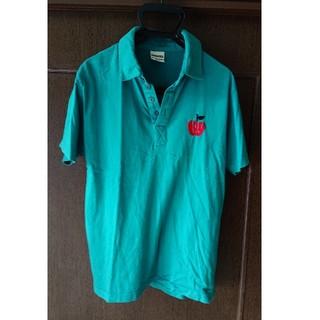 ランドリー(LAUNDRY)のlaundry  ポロシャツ 🍎りんご Mサイズ メンズ  レディース(ポロシャツ)