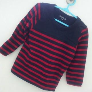ニシマツヤ(西松屋)の秋物ロンティーサイズ100(Tシャツ/カットソー)