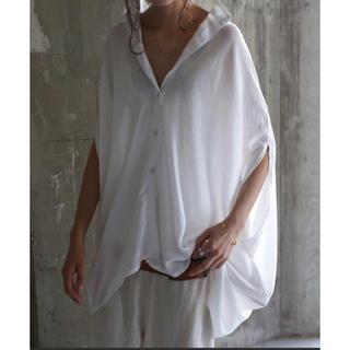 アンティカ(antiqua)のantiqua ☆ ストライプシャツ☆ホワイト(Tシャツ(半袖/袖なし))
