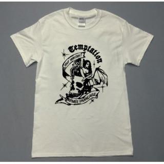 ドクロ天使 イラスト ロゴ 半袖Tシャツ utn4(Tシャツ/カットソー(半袖/袖なし))