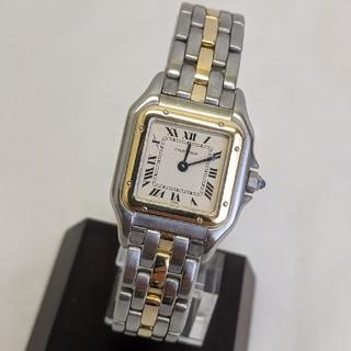 カルティエ(Cartier)の【美品】カルティエ パンテールSM 18K SS 腕時計 人気(腕時計)