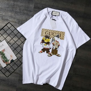 Gucci - メンズ ファッション Tシャツ カッコいい 丸首 日常用 送料無料