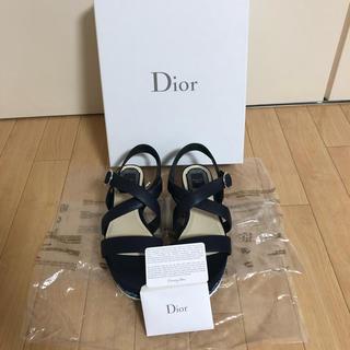 ディオール(Dior)のDior サンダル 極美品♡ 37ハーフ 24.5(サンダル)