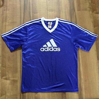 アディダス(adidas)のadidas 90s デカロゴ‼️ゲームシャツ‼️早い者勝ち‼️(Tシャツ/カットソー(半袖/袖なし))
