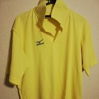 ミズノ(MIZUNO)のミズノ ユニフォーム サイズO(XL) イエロー 黄色(ウェア)