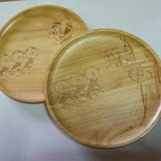 ディズニー(Disney)のディズニー 確認用 木製プレート ドナルド(食器)