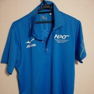 ミズノ(MIZUNO)のミズノ ポロシャツ サイズ2XL ブルー(ウェア)