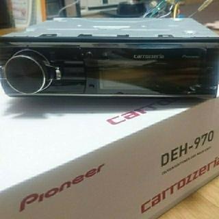 パイオニア(Pioneer)のDEH-970 P01アンプセット(カーオーディオ)