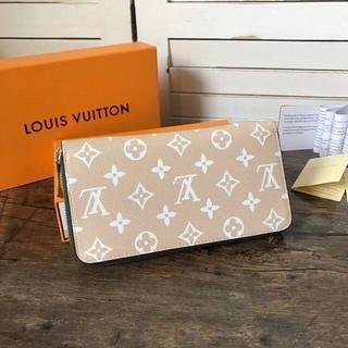 LOUIS VUITTON - 19SS 最新モデル LOUIS VUITTON 長財布  男女兼用  牛本革