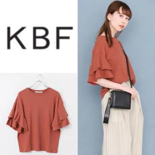 KBF - 新品 KBF ディアードスリーブTシャツ